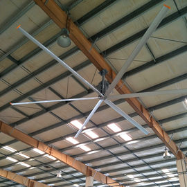 HVLS Industrial Cooling Inverter Ceiling Fan, 22 FT 6.6m Big Ass Ceiling Fan Besar
